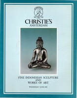 CHRISTIE'S Fine indonesian sculpture & WoA[06/89]