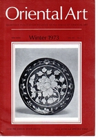 Oriental Art. New Series Volume XIX Number 4. Winter 1973