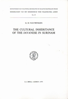 The Cultural Inheritance of the Javanese in Surinam