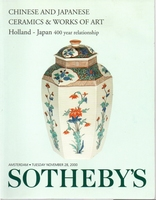 SOTHEBY's, Chinese and Japanese ceramics & WoA[11/00]