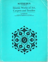 Sotheby's Islamic works of Arts Carpets and Textiles