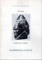 Afrika-Amerika-Asien Auktion Hauswedell & Nolte[04/75]