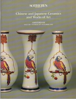 SOTHEBY'S, Chinese and Japanese Ceramics & WoA[10/92]