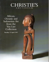 CHRISTIE'S Tribal Art[van Lier collection] 04/97]