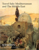 SOTHEBY'S, Travel Sale: Mediterranean & The MEast[10/99]