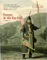 Forum, Europe & the Far East, catalogue 110